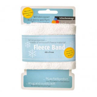 Fleece Band blau