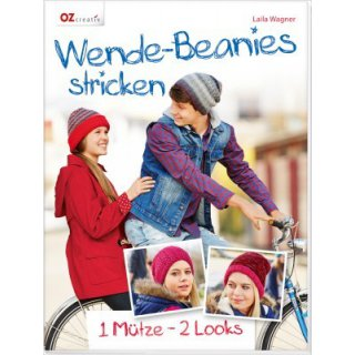 Wende-Beanies stricken
