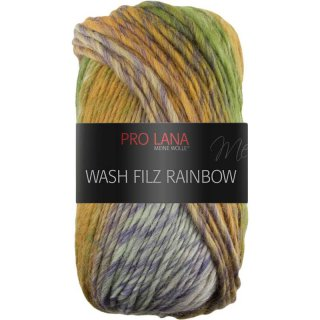 Wash Filz Rainbow