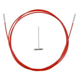 Twist Red Cable Large